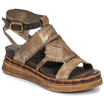 kengät Naiset Sandaalit ja avokkaat Airstep / A.S.98 LAGOS Kulta