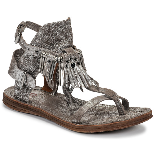 kengät Naiset Sandaalit ja avokkaat Airstep / A.S.98 RAMOS Hopea