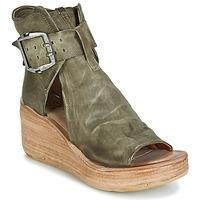 kengät Naiset Sandaalit ja avokkaat Airstep / A.S.98 NOA BUCKLE Kaki