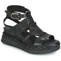 kengät Naiset Sandaalit ja avokkaat Airstep / A.S.98 LAGOS Musta