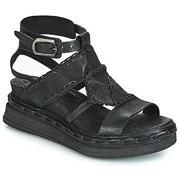 kengät Naiset Sandaalit ja avokkaat Airstep / A.S.98 LAGOS Black