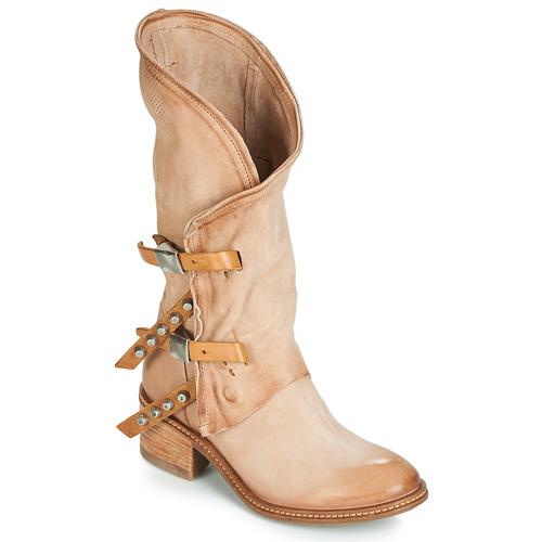 kengät Naiset Saappaat Airstep / A.S.98 WINNIE Beige