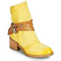 kengät Naiset Bootsit Airstep / A.S.98 WINNIE STRAP Yellow