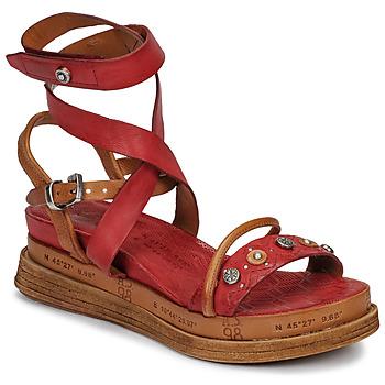 kengät Naiset Sandaalit ja avokkaat Airstep / A.S.98 LAGOS Red