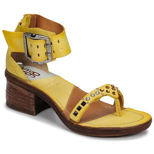 kengät Naiset Sandaalit ja avokkaat Airstep / A.S.98 KENYA Yellow