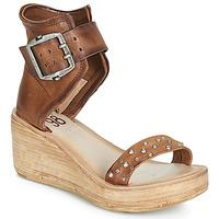 kengät Naiset Sandaalit ja avokkaat Airstep / A.S.98 NOA CLOU Kamelinruskea