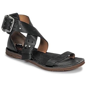 kengät Naiset Sandaalit ja avokkaat Airstep / A.S.98 RAMOS CROISE Black