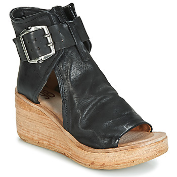 kengät Naiset Sandaalit ja avokkaat Airstep / A.S.98 NOA BUCKLE Black