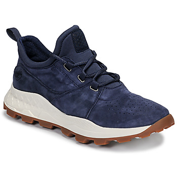 kengät Miehet Matalavartiset tennarit Timberland BROOKLYN LACE OXFORD Sininen