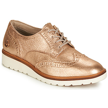 kengät Naiset Derby-kengät Timberland ELLIS STREET OXFORD Pink / Kulta