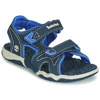kengät Lapset Sandaalit ja avokkaat Timberland ADVENTURE SEEKER 2 STRAP Sininen
