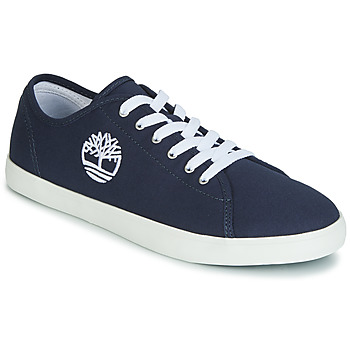 kengät Lapset Matalavartiset tennarit Timberland NEWPORT BAY CANVAS OX Blue