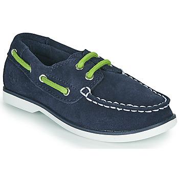 kengät Lapset Purjehduskengät Timberland SEABURY CLASSIC 2EYE BOAT Musta