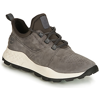 kengät Miehet Matalavartiset tennarit Timberland BROOKLYN LACE OXFORD Grey
