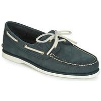 kengät Miehet Purjehduskengät Timberland CLASSIC BOAT 2 EYE Grey