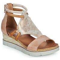 kengät Naiset Sandaalit ja avokkaat Mjus TAPASITA Pink / Kulta