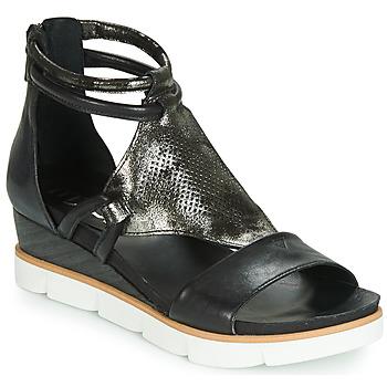 kengät Naiset Sandaalit ja avokkaat Mjus TAPASITA Black / Metallinen