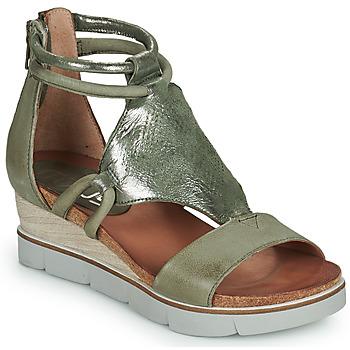 kengät Naiset Sandaalit ja avokkaat Mjus TAPASITA Kaki