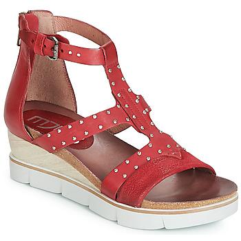 kengät Naiset Sandaalit ja avokkaat Mjus TAPASITA CLOU Red