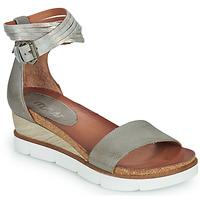 kengät Naiset Sandaalit ja avokkaat Mjus TAPASITA Grey / Hopea