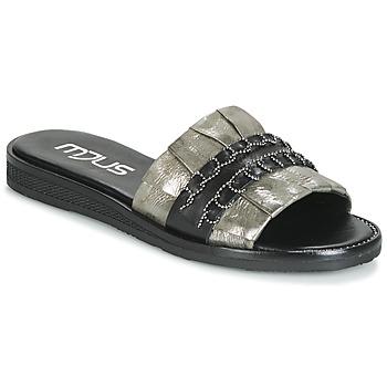 kengät Naiset Sandaalit Mjus TEMPLE Kaki / Black