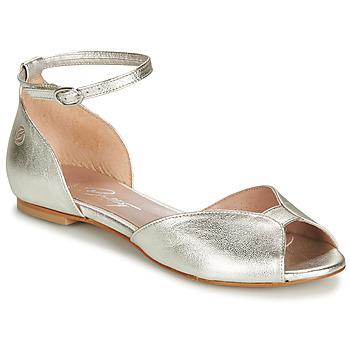 kengät Naiset Sandaalit ja avokkaat Betty London INALI Hopea
