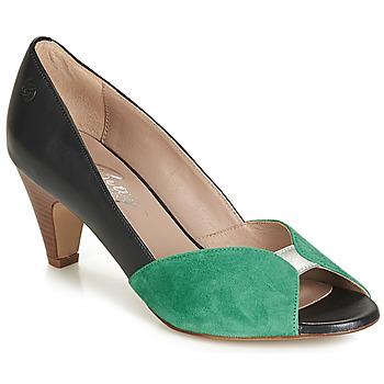 kengät Naiset Korkokengät Betty London JIKOTIZE Black / Green