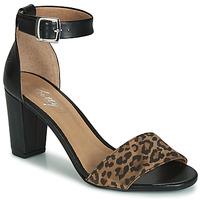 kengät Naiset Sandaalit ja avokkaat Betty London CRETOLIA Musta