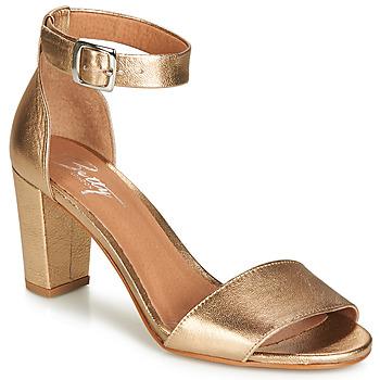 kengät Naiset Sandaalit ja avokkaat Betty London CRETOLIA Kulta