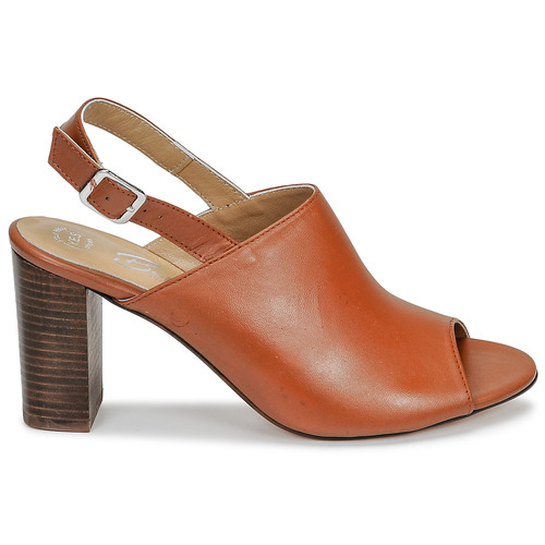 Betty London Jikotege Camel - Ilmainen Toimitus- Kengät Sandaalit Naiset 61
