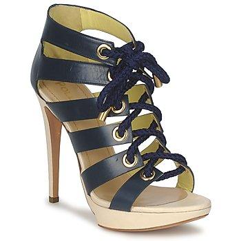 kengät Naiset Sandaalit ja avokkaat Pollini PA1609CC1V Sininen