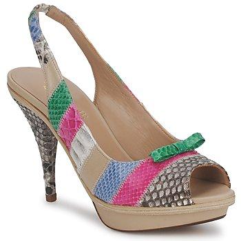 kengät Naiset Sandaalit ja avokkaat Fericelli NIADIK Monivärinen