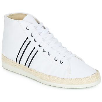 kengät Naiset Korkeavartiset tennarit Ippon Vintage BAD HYLTON White