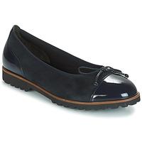 kengät Naiset Balleriinat Gabor CAROLINA Laivastonsininen