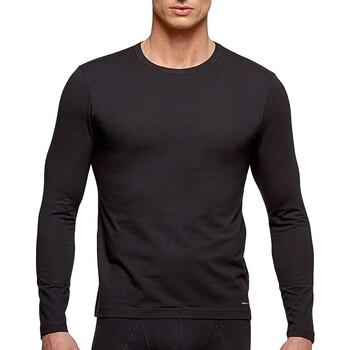 vaatteet Miehet T-paidat pitkillä hihoilla Impetus 1368898 020 Musta