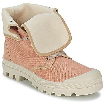kengät Naiset Korkeavartiset tennarit Casual Attitude BOPESSA Pink