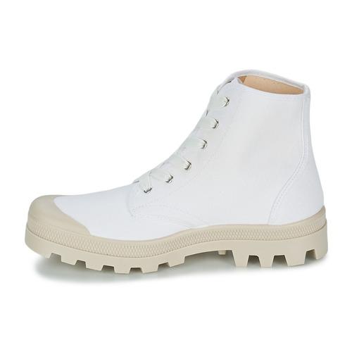 Naisten kengät Casual Attitude MADIMA White  kengät Korkeavartiset tennarit Miehet 3219