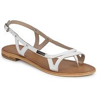 kengät Naiset Sandaalit ja avokkaat Les Tropéziennes par M Belarbi ISATIS White