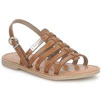 kengät Tytöt Sandaalit ja avokkaat Les Tropéziennes par M Belarbi MANGUE Brown
