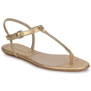 kengät Naiset Sandaalit ja avokkaat Michael Kors MK18017 Kulta