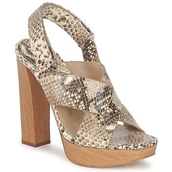 kengät Naiset Sandaalit ja avokkaat Michael Kors MK18072 Python