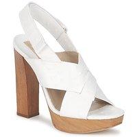 kengät Naiset Sandaalit ja avokkaat Michael Kors MK18072 White