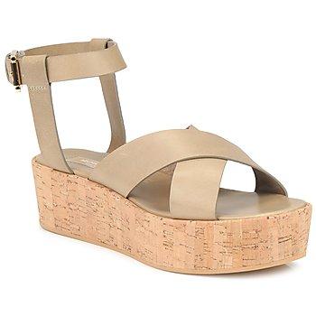 kengät Naiset Sandaalit ja avokkaat Michael Kors MK18132 Hiekka