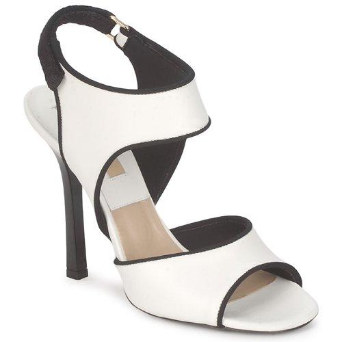 kengät Naiset Sandaalit ja avokkaat Michael Kors MK18111 White