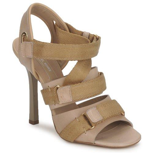 kengät Naiset Sandaalit ja avokkaat Michael Kors MK118113 Desert / Beige
