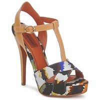 kengät Naiset Sandaalit ja avokkaat Missoni TM69 Monivärinen