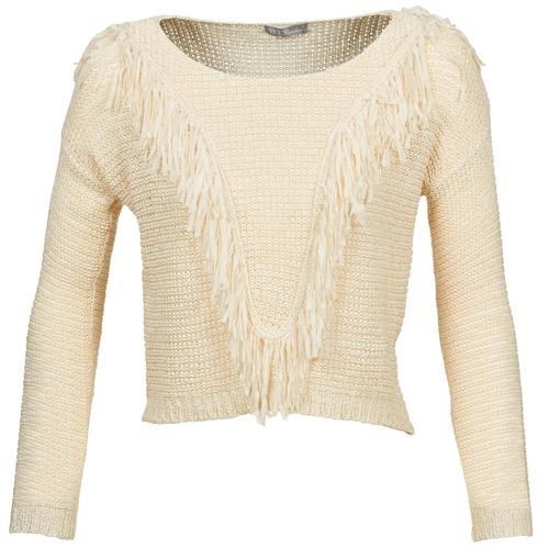 vaatteet Naiset Neulepusero Betty London CAZE Beige