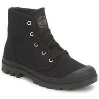 kengät Naiset Bootsit Palladium US PAMPA HI Black