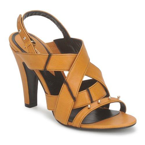 kengät Naiset Sandaalit ja avokkaat Karine Arabian DOLORES Safran-musta