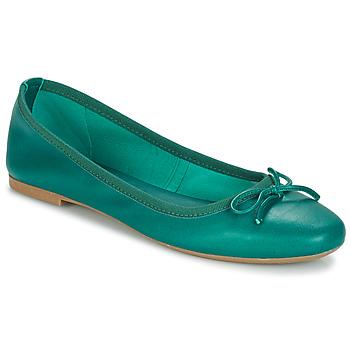 kengät Naiset Balleriinat André PIETRA Green